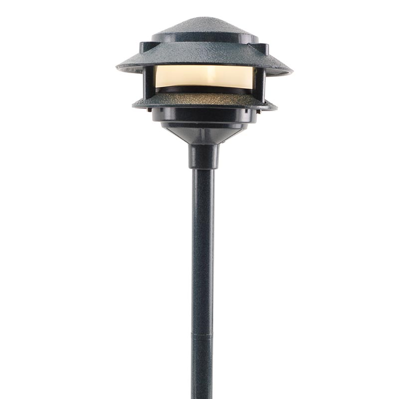 Pagoda 2 tier led light aqlighting for Quality landscape lighting