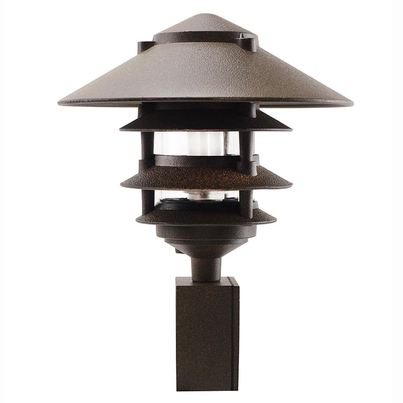 4 tier pagoda fluorescent area light pabhfl by aql for Quality landscape lighting