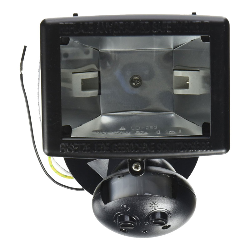 Outdoor Flood Lights Wont Turn Off: Quartz Halogen Motion Sensor 120V Flood Light