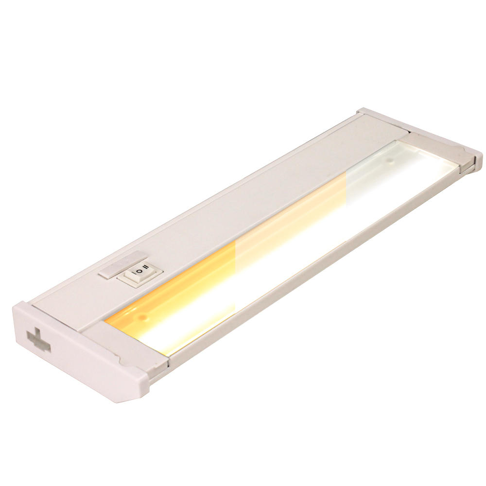 120v color select led linkable under cabinet dimmable light bar
