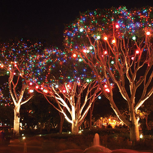 6 Led Hanging Tree Light Sphere Snow Ball 120v